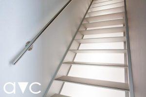 Metalltreppe AVC, Escalier en métal AVC