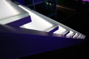 AVC Glastreppe CAMELEON S, escalier en verre CAMELEON S