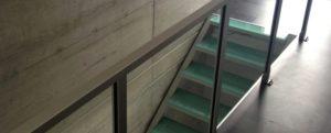 Escalier Treppe Treppenbau Glastreppe Designtreppe AVC Schweiz