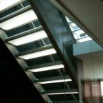 Glastreppe Escalier Treppe Treppenbau Designtreppe AVC Schweiz