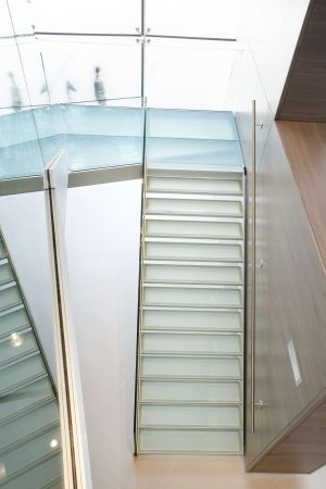 Our Glass Staircases Are Available In Various Glass Types And Colours. The  Light Flows Through The Steps Creating An Amazing Translucent Effect.