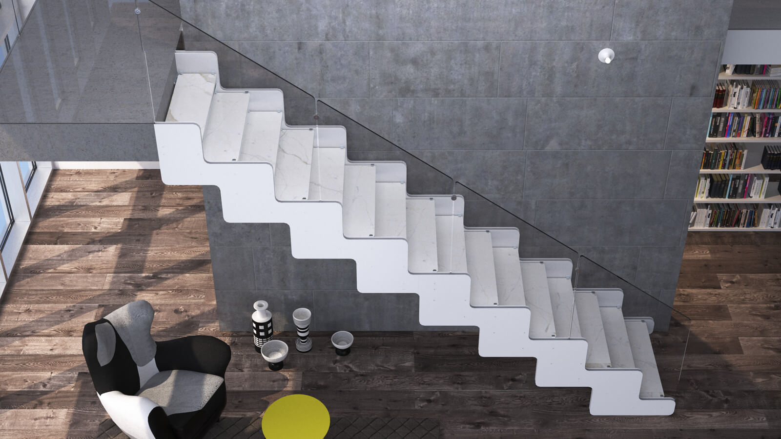 INSENSATION® | Architectural Staircases | Glass Stairs | Glass ...