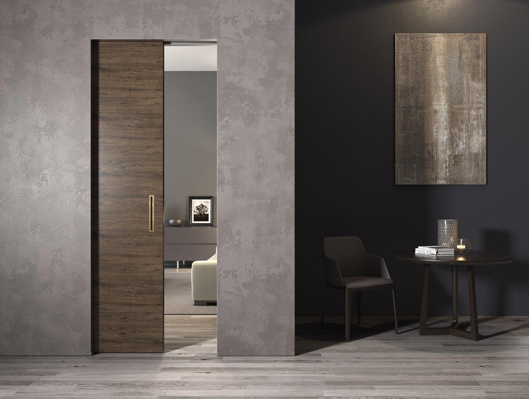 ONEPLANE™ FRAMELESS POCKET DOORS