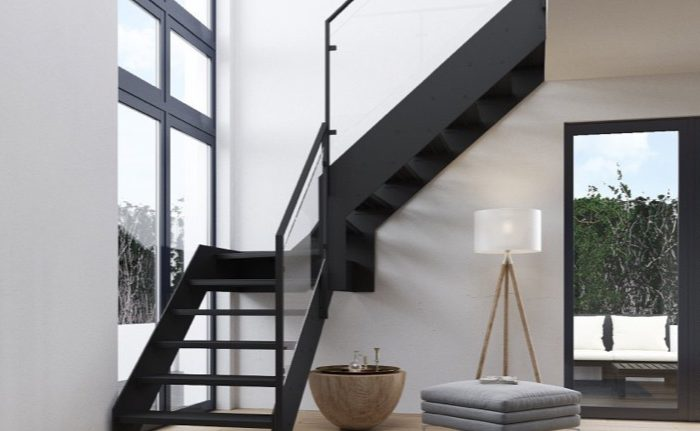 STAIRPLANE™ STEEL STAIRCASES