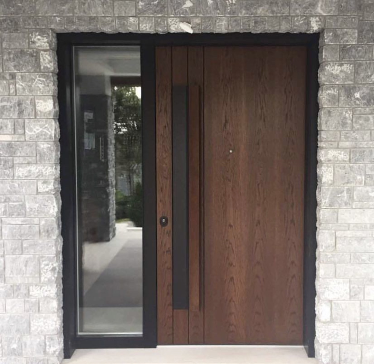 SECURE ENTRANCE DOORS