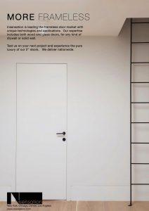 Insensation Frameless Door