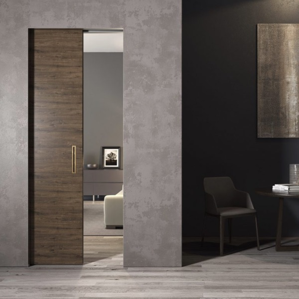 ONEPLANE™ FRAMELESS POCKET DOORS